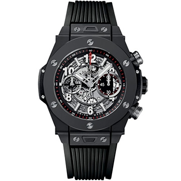 Hublot Big Bang Unico Black Magic 45мм